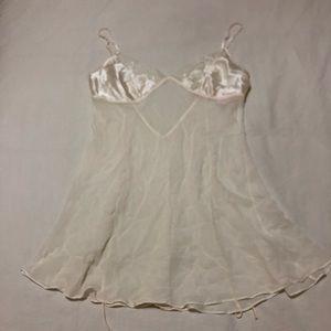 Victoria's Secret Silk Babydoll Nightie